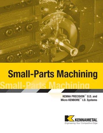 Small-Parts Machining - MAXIM tools