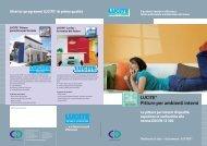 LUCITE® Pitture per ambienti interni - CD-Color GmbH & Co.KG