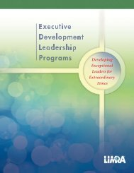 Leadership Programs - LIMRA International