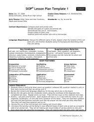 Lesson Plan: Cells (Schlueter) - ACT-ESL