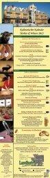 Kulinarischer Kalender Herbst & Winter 2012 - Landhotel Löwenbruch