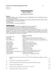 19 mars 2012 - Sciences Po