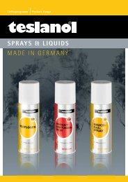Spray von teslanol - Fuchs Elektronik GmbH Online Shop