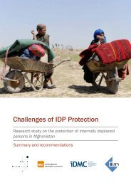 Challenges of IDP Protection - Internal Displacement Monitoring ...