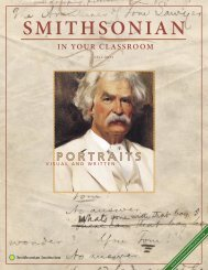 Portraits Visual and Written - Smithsonian Education