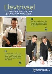 Vejledning om god oplæring i gastronom- og tjenerfaget