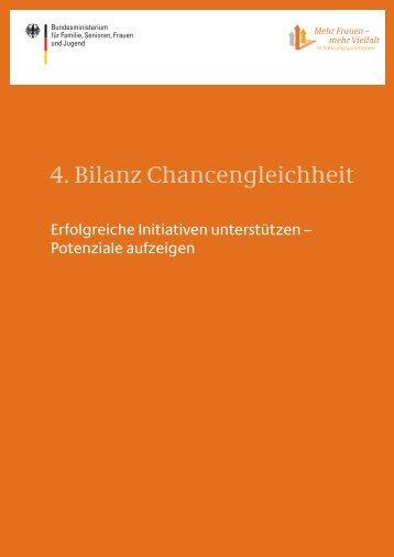 4. Bilanz Chancengleichheit - Bundesministerium für Familie ...