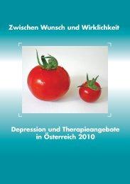 Depression und Therapieangebote in Österreich 2010 (pdf) - Meditia