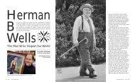 Herman B Wells