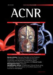 An Anatomico-Clinical Overview - Advances in Clinical ...