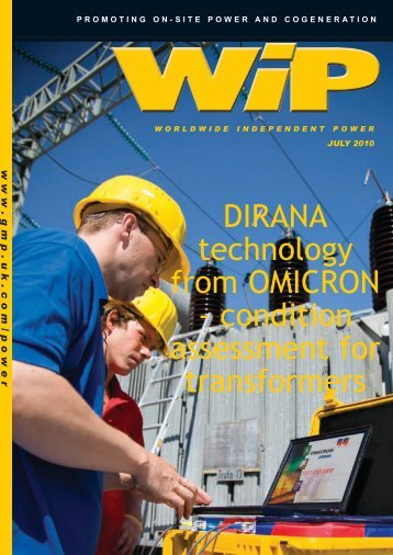 DIRANA technology from OMICRON - Global Media Publishing Ltd ...