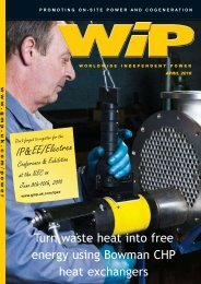 Turn waste heat into free energy using Bowman - Global Media ...