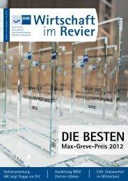 Wirtschaft im Revier - Industrie- und Handelskammer Bochum