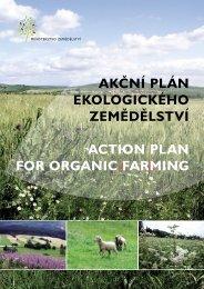 Akční plán ekologického zemědělství Action plAn ... - Bioinstitut, o.p.s.