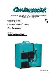 tehničke upute - drvo/pelet - korisnik - Centrometal