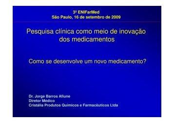 Jorge Barros Afiune - IPD-Farma