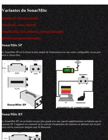SonarMite Variants - Anhydre