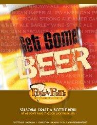 Charleston Beer Menu - Dine Here US