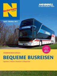 BEQUEME BUSREISEN - Reisebüro Hebbel
