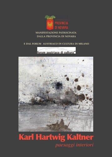 Karl Hartwig Kaltner - Galleriasorrenti.com