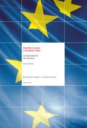 Hrvatska na putu u Europsku uniju - Ministarstvo vanjskih i ...