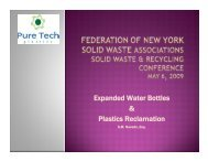 Expanded Water Bottles & Plastics Reclamation - Home for the New ...