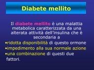 Diabete mellito definizione - Medicina e chirurgia