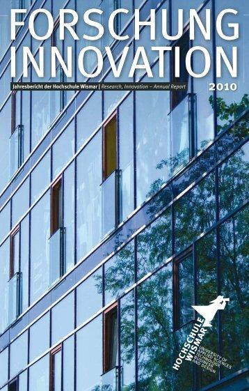 HS-Wismar Forschung und Innovation 2010 - Hochschule Wismar