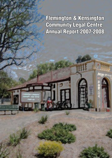 Annual Report 2007-2008 - Community Law