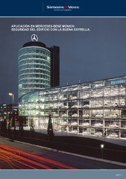Descargar informe de ejemplo (PDF) - SimonsVoss technologies