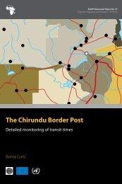 The Chirundu Border Post - World Bank Internet Error Page ...