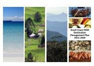 Download the South Coast Destination Management Plan 2013