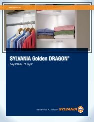 SYLVANIA Golden DRAGON® - Osram Sylvania