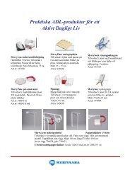 Praktiska ADL-produkter för ett Aktivt Dagligt Liv