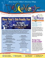 New Year's Eve Family Fun - A.C. Gilbert's Discovery Village
