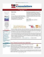 I&MI Media e-Newsletter APAC May 2010 - micePLACES