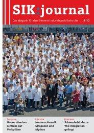 Das Magazin für den Siemens Industriepark Karlsruhe 4 |10