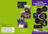 TAPA Ensembles Diary - Torbay Council