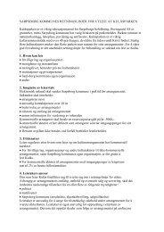 retningslinjer for utleie av Kulåsparken - Sarpsborg kommune