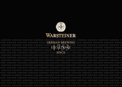 Untitled - Warsteiner Gruppe