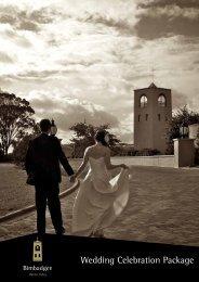Wedding Celebration Package - Bimbadgen Estate