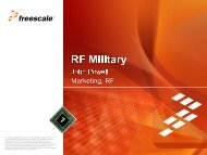 Freescale PowerPoint Template - Richardson RFPD