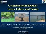Cyanobacterial blooms: toxins, tastes, and odors.