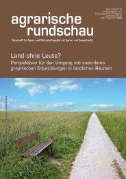 Land ohne Leute? - Österreichischer Gemeindebund