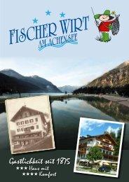 Das Fischer Wirt Hausprospekt zum Download - Fischerwirt am ...
