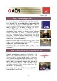 E-letter duben.pdf - Asociace českých nábytkářů