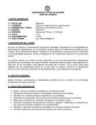 UNIVERSIDAD LATINA DE PANAMÁ SEDE DE CHIRIQUÍ I. DATOS ...