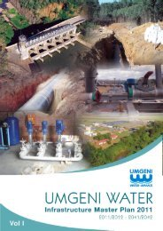 Volume 1 - Umgeni Water