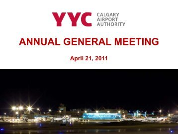 ANNUAL GENERAL MEETING - Calgary Airport