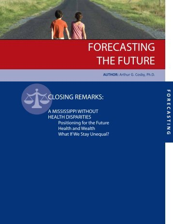 forecasting the future - Social Science Research Center - Mississippi ...